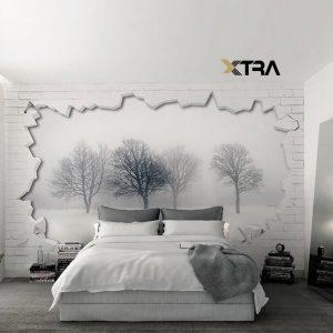 اتاق خواب نقره ایی
