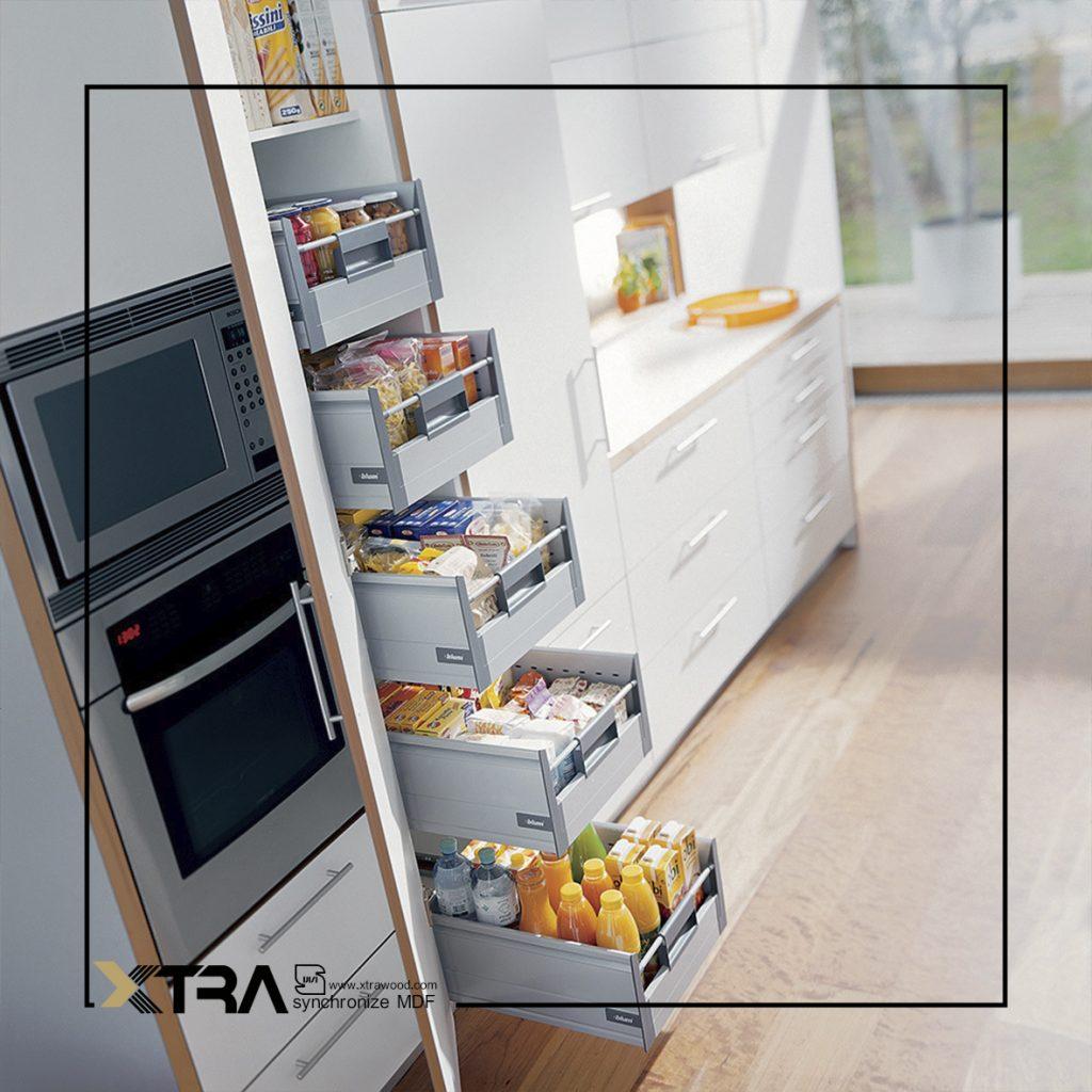 مخفی سازی تجهیزات آشپزخانه