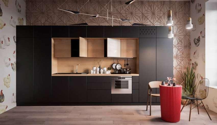 آشپزخانه های دیواری