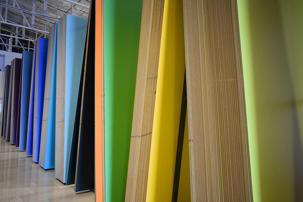نمایشگاه چوب و ام دی اف افرا